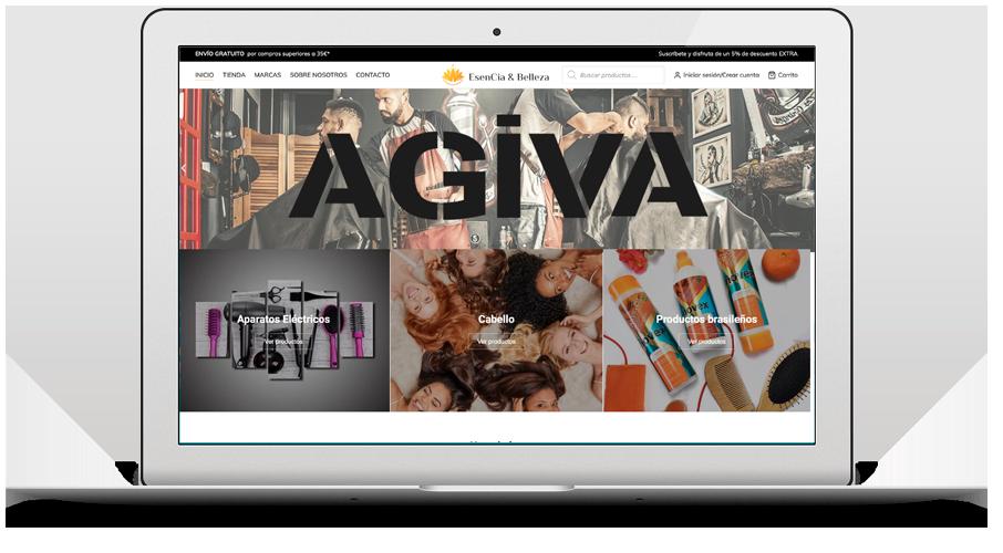Desarrollo web Esencia y Belleza